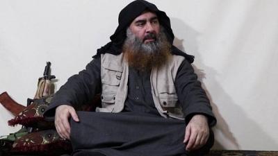 IŞİD LİDERİ EBU BEKİR EL BAĞDADİ 5 YIL SONRA ORTAYA ÇIKTI