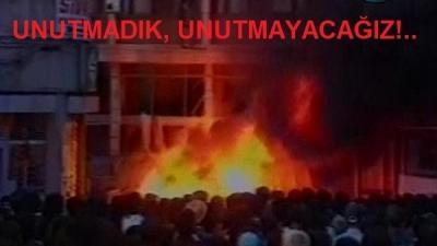 SİVAS KATLİÂMI'NIN 28'İNCİ YILI
