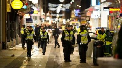STOCKHOLM POLİSİ NOEL SÜRESİNCE ŞEHİR MERKEZİNDE TERÖRE HAZIR OLACAK