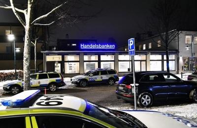 STOCKHOLM'DA BİR BANKA SOYULDU