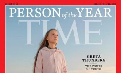 TİME YILIN EN İYİSİNİ SEÇTİ:GRETA THUNBERG