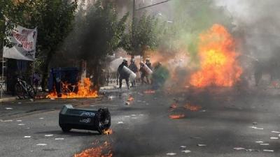 Yunanistan'da Altın Şafak Partisi için suç örgütü kararı